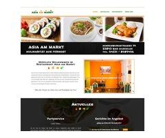 Thiết kế trang Web cho quán ăn và tiệm nails